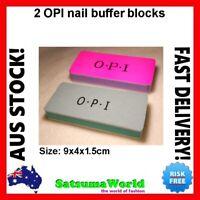 OPI O.P.I NAIL BUFFER SHINER 2x BLOCK BLOCKS MANICURE POLISH Professional FILES