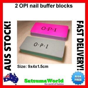 OPI NAIL BUFFER SHINER 2x BLOCK BLOCKS MANICURE POLISH Professional FILES