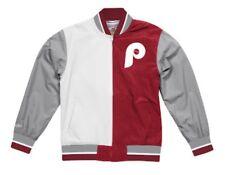 Philadelphia Phillies Mitchell Ness MLB Champions Team History Warm Up Jacket