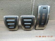 Original Audi A1 8X A3 8V Pedales Deportivos Caps Acero Inox. 8V1064200