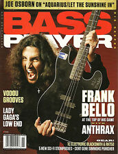 BASS PLAYER November 2011 FRANK BELLO Kern Brantley Let the Sunshine in/Aqua TAB