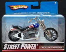 Hot Wheels STREET POWER 1/18 Diecast Motorcycle/Bike:ROLLIN'THUNDER(#R1081;2009)