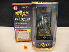 Comic Book Champions Series 2 BATMAN Fine Pewter Figure NEW 1996