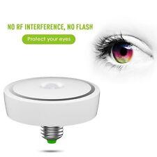 E27 12w LED Infrared Motion Detection Light Sensor PIR Warm White Bulb Lamp
