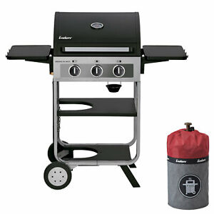 Gasgrill Enders Brooklyn Next 3 - Gas Grill + Gasflaschenhülle + Thermometer