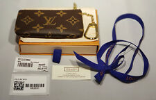 Brand New Authentic Louis Vuitton Monogram Key Pouch Cles M62650 with Gift Box