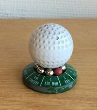 Vintage golf ball executive decision maker paperweight.