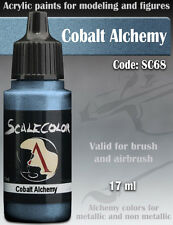 Acrylic Paint - COBALT ALCHEMY - Scale75 SC-68 - 17ml for Hobby brush airbrush