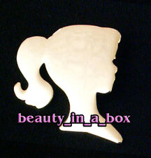 Barbie Exclusive Collector Membership Pin Brooch Head Silhouette 1 inch Q