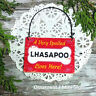 DecoWords Wood Dog Ornament Mini Sign * SPOILED LHASAPOO Lives Here Gift USA New