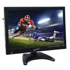 "SuperSonic 14"" Portable LED TV, W/ USB, SD, HDMI / AC/DC/ Rechargeable Battery"