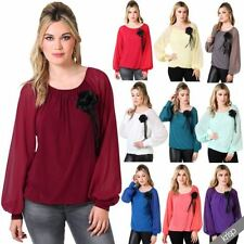 Party Plus Size Vintage Tops & Shirts for Women