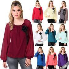 Blouse Party Plus Size Vintage Tops & Shirts for Women