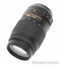 Nikon Nikkor 55-300mm f4.5-5.6 G ED VR Autofocus Lens -Clean- (82-6)