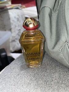 Vintage SAMSARA GUERLAIN Paris Eau De Toilette 1/4fl oz/7.5ml Mini Splash Bottle