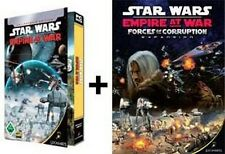 Star wars empire at war + forces of corruption Gold dans hardcasehülle comme neuf