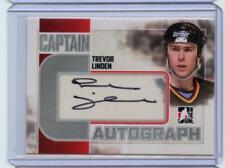 2011-12 ITG Captain-C Autograph Auto Silver #ATL Trevor Linden