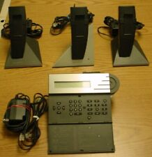 Three Bang & Olufsen BeoCom 6000 Cordless Phones with BeoTalk Answering Machine