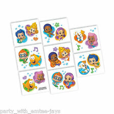 Bubble Guppies Tattoos - Bubble Guppie Party Favours Loot Ideas - Guppies Party