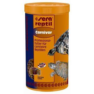sera reptil Professional Carnivor | 1000 ml Reptilienfutter