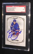 BRADY SKJEI SIGNED 2015/16 UD CHAMPS ROOKIE CARD #167 SGC AUTHENTICATED RANGERS