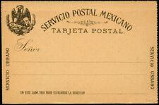 MEXICO 1885 (2¢) FORMULAR PS CARD Bamert PC8v5