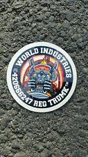 World Industries Vintage Skateboard Sticker