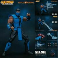 "Storm Collectibles Sub-Zero Action Figure 1/12 Scale Mortal Kombat  7"" Inch"