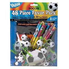 Party Bag Filler Loot Bag Football Soccer Birthday Pinata Boys Girls 48pk