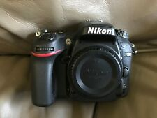 Nikon D D7200 24.2MP Digital SLR Camera - Black (Body only)