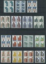 Berlin Sehenswürdigkeiten postfrisch Viererblock SWK VB Michel 172,00 Euro MNH