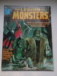 MARVEL/CURTIS: THE LEGION OF MONSTERS #1, FEA.: FRANKENSTEIN/DRACULA/ETC, 1975!!