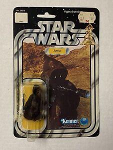 Vintage Star Wars JAWA 12b RESEAL MOC Original Complete 1978 Kenner