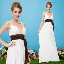 Chiffon Formal Solid Maxi Dresses for Women