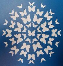 Scrapbooking - STENCILS TEMPLATES MASKS SHEET - Butterfly Circle Stencil