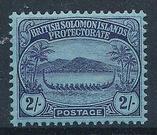 [56946] British Solomon 1910 good MH Very Fine stamp $60
