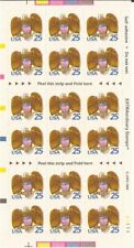 US Stamp - 1989 Eagle & Shield - Booklet Pane of 18 Stamps #2431a