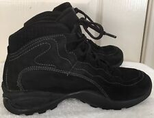 Womens ASOLO Black Gore-Tex Leather Ankle Boots Hiking Shoes SIZE 6.5 EU 37.5
