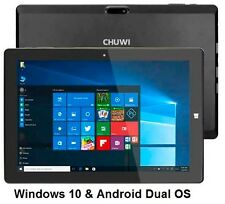 "Chuwi hi10 Tablet PC 10.1"" Windows 10 & Android 5.1 4GB / 64 GB Ultrabook Intel UK"