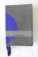 La Mision Biblia De Estudios con Comentarios de EGW y Hymnario SDA Azul y Plata