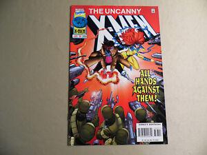 Uncanny X-Men #333 (Marvel 1996) Free Domestic Shipping