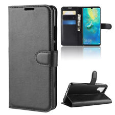 For Huawei P30 Pro Premium Faux Leather Wallet Series Kickstand Flip Case Cover