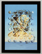 Salvador Dali Galatea framed canvas print giclee 8X12 reproduction art poster