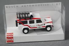 BUSCH 50309 (H0, 1:87) - Land Rover Defender Station Wagon 110 Johanniter - NEU
