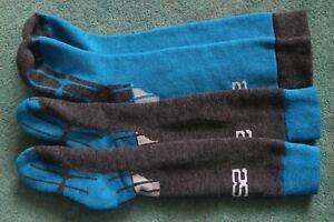 2 Pairs 2Season Ski Socks Snowboarding socks 4-7