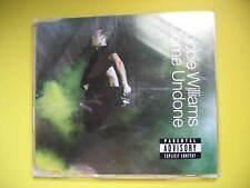 ROBBIE WILLIAMS-COME UNDONE. 2003 3 TRACK CD SINGLE. POP DISCO SOUL. TAKE THAT