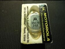1PC. MOTOROLA 2N178 PNP GERMANIUM TRANSISTOR