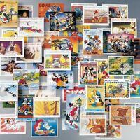 La banda Disney: 100 francobolli da diversi Paesi del Mondo