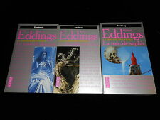 David Eddings : Trilogies des Joyaux TBE