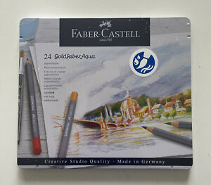 Faber-Castell Goldfaber Aqua Watercolor Pencil - Set Of 24